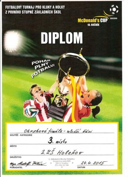 McDonald Cup 3. místo