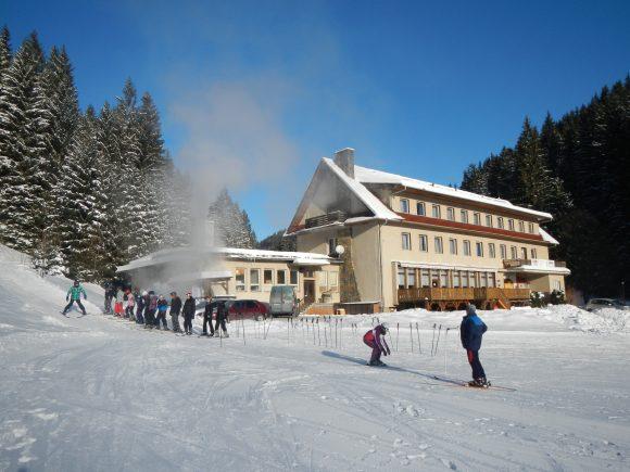 lyžařský výcvikový kurz