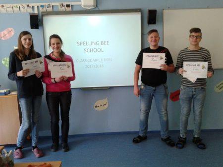 Spelling Bee u nás ve škole