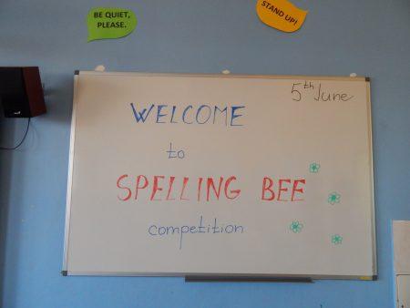 Meziškolní kolo soutěže Spelling Bee
