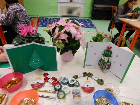 Den otevřených dveří a vánoční dílničky v 2. Základní škole Holešov